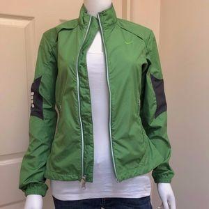Nike Women's Green Bicycle Shell / Windbreaker